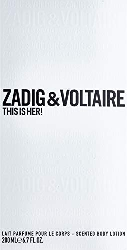 Zadig & Voltaire This Is Her! Body Lotion 200 Ml This Is Her! Body Lotion 200 Ml 1 unidad 200 ml