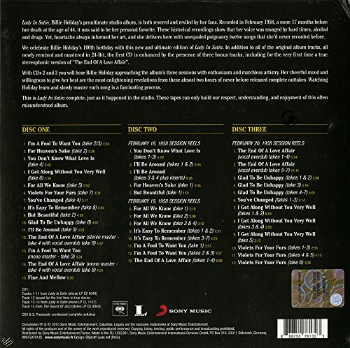 Lady In Satin-The Centennial Edition (Deluxe Ed.) [3 CD]